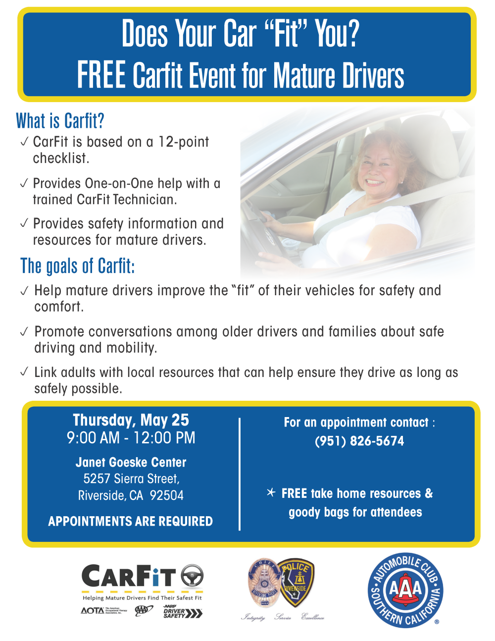 CarFit May 2017 Flyer